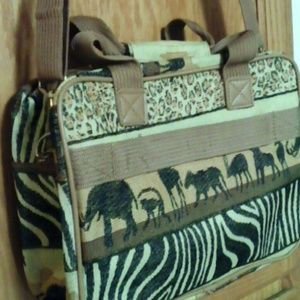 43d8f42e75b327 Benjamin Jordan Bags - Sarfari tapestry travel bag.
